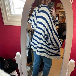 Cozy striped sweater!